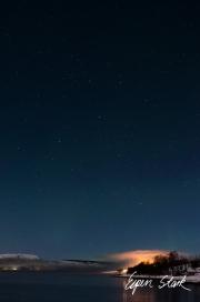 Aursfjorden by night